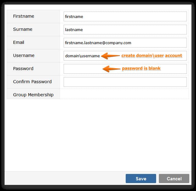 Windows Authentication | Gemini Documentation